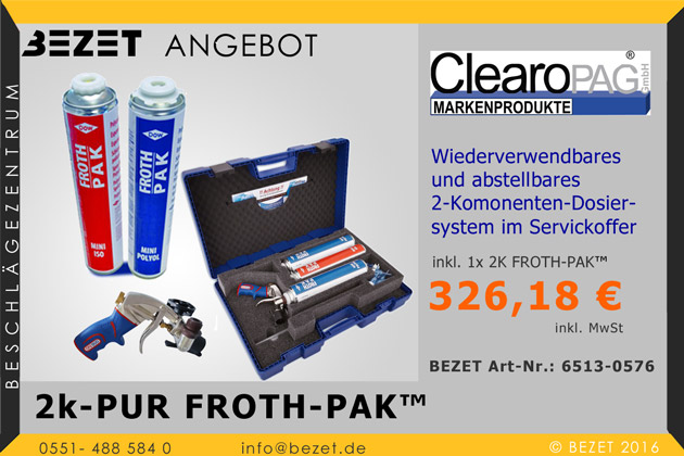 ClearoPAG 2K-PUR FROTH-PAK™