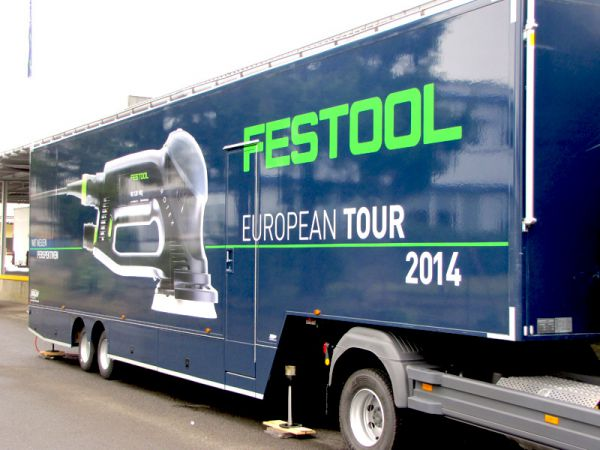 FESTOOL European Tour 2014 bei BEZET