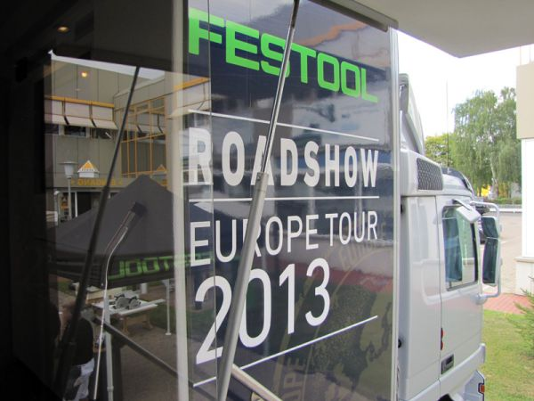 Der Festtool Roadtruck war in Göttingen